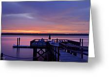 Party Dock Greeting Card