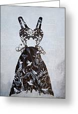Party Dress Greeting Card