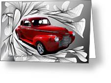 Party Time Red Greeting Card
