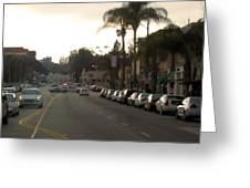 Pasadena 1087 Greeting Card