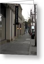 Pasadena Sidewalk 1093 Greeting Card