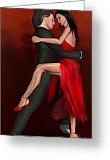 Pasodoble Greeting Card