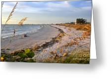 Pass A Grill Beach Florida Greeting Card