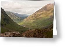 Pass Of Glencoe II Greeting Card