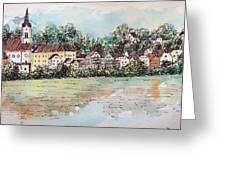 Passau II Greeting Card