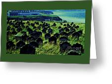 Passed Or Past Residents Of Whitby, Yorkshire Greeting Card