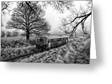 Passenger Train Travel Greeting Card