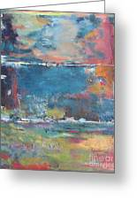 Passing Storm Greeting Card by Chaline Ouellet