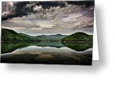 Passing Storm Over Lake Hiwassee Greeting Card