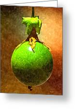 Great Passion Fruit Greeting Card