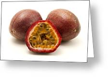 Passion Fruits Greeting Card
