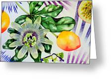 Passion In The Tropics Greeting Card