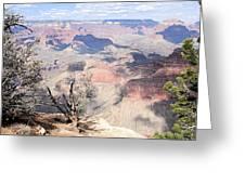 Pastel Canyon Greeting Card