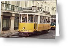 Tram 28 Greeting Card