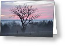Pastel Fog Greeting Card