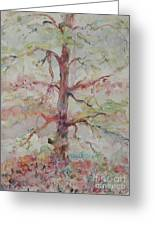 Pastel Forest Greeting Card by Nadine Rippelmeyer