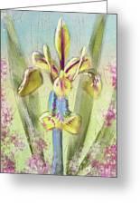 Pastel Iris Greeting Card