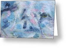 Pastel Promontory Greeting Card