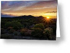 Pastel Sonoran Skies  Greeting Card