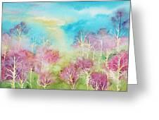 Pastel Spring Greeting Card