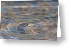 Pastel Water Sculpture 5 Greeting Card