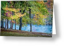 Pastoral River Greeting Card