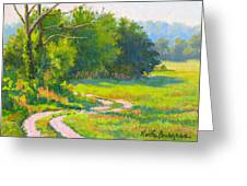Pasture Road Greeting Card