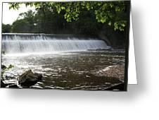 Patapsco Valley State Park - Bloedes Dam Greeting Card