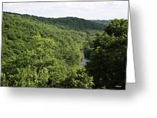 Patapsco Valley State Park - Overlook Greeting Card