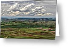 Patchwork Palouse Greeting Card