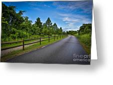 Path - Color Greeting Card