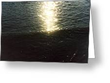 Path Of Sunlight Greeting Card