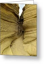 Path Through The Tent Rocks Greeting Card