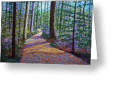 Path To Hubbards Farm Market Greeting Card
