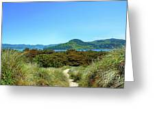 Footpath To Nestucca River Greeting Card
