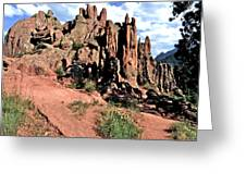 Path To Red Rocks Greeting Card