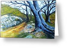 Path To Rivendale Greeting Card