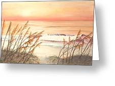 Path To Sunlit Waters Greeting Card