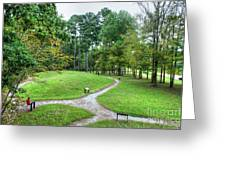 Path To The Mound Greeting Card