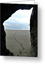 Path To The Ocean Greeting Card