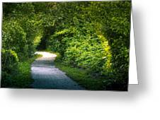Path To The Secret Garden Greeting Card
