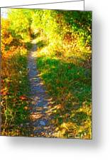Path To Unknown Greeting Card