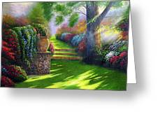 Pathway To Heaven Greeting Card