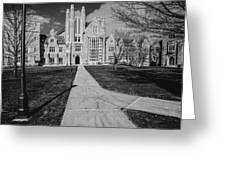 Pathway To The Law Greeting Card