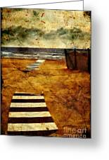 Pathway To The Sea II Greeting Card