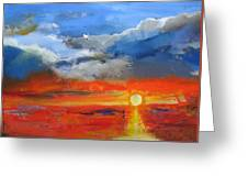Pathway To The Sun Greeting Card