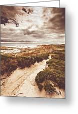 Pathways To Seaside Paradise Greeting Card
