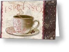 Patisserie Cafe Espresso Greeting Card
