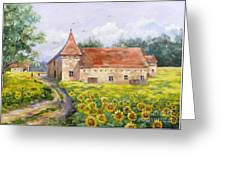Patricks Barn Greeting Card