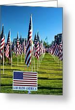 Patriotic Greeting Card